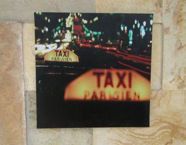 Tela Decorativa Táxi 30x30CM