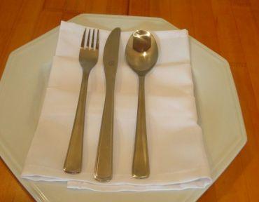 3- Talheres de mesa