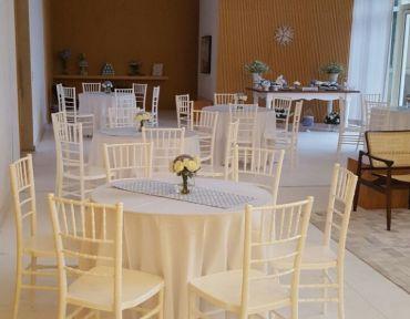 Festa Cadeiras Tiffany Branca