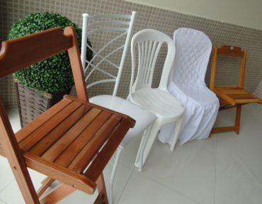 05 Modelos de cadeiras diversos.